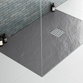 Slate Effect Shower Trays