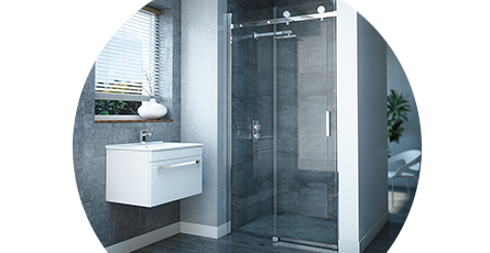 sliding shower doors banner