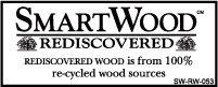 SmartWood Rediscovered wood logo