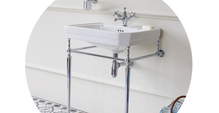 Bathroom Sink Stand With Basin