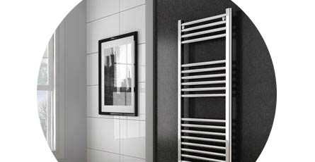 straight towel rail