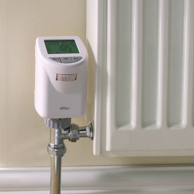 Terrier i-temp Programmable Thermostatic Radiator Valve Profile Large Image