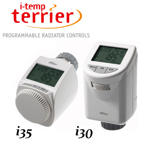 Terrier i-temp Programmable Thermostatic Radiator Valve Large Image