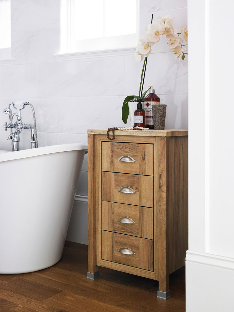 12 refreshing bathroom furniture ideas victorian plumbing for Bathroom furniture drawers