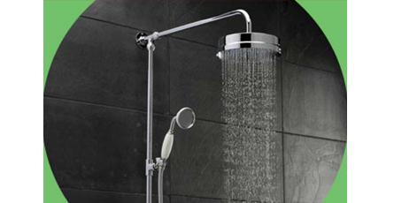 traditional shower riser kits