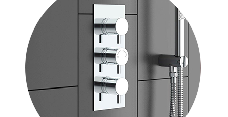 Triple Shower Valves | Victorian Plumbing