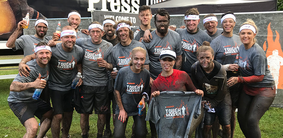 Victorian Plumbing Take On The Tough Mudder Challenge