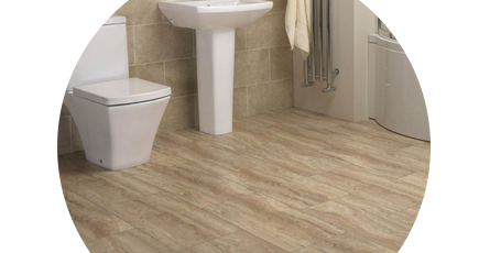 vinyl bathroom flooring