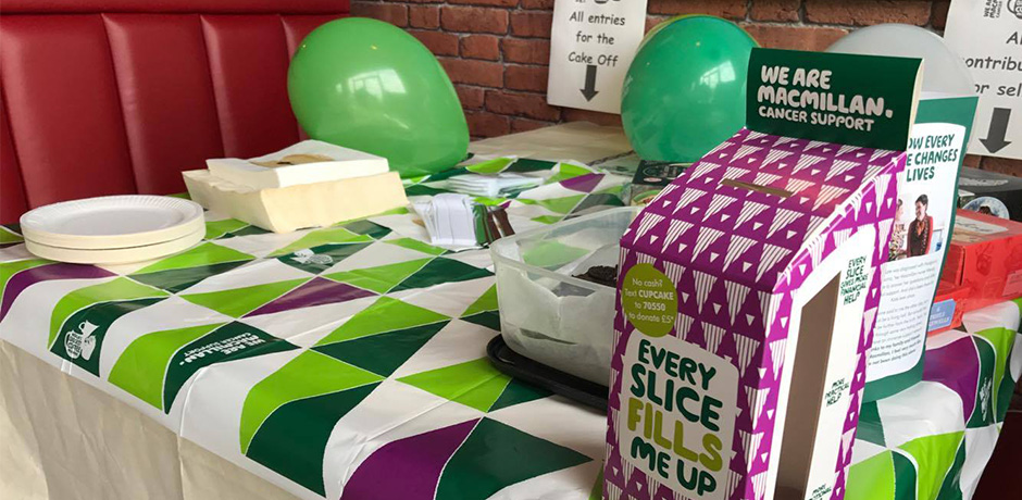 VP Cake Off - Macmillan - World's Biggest Coffee Morning
