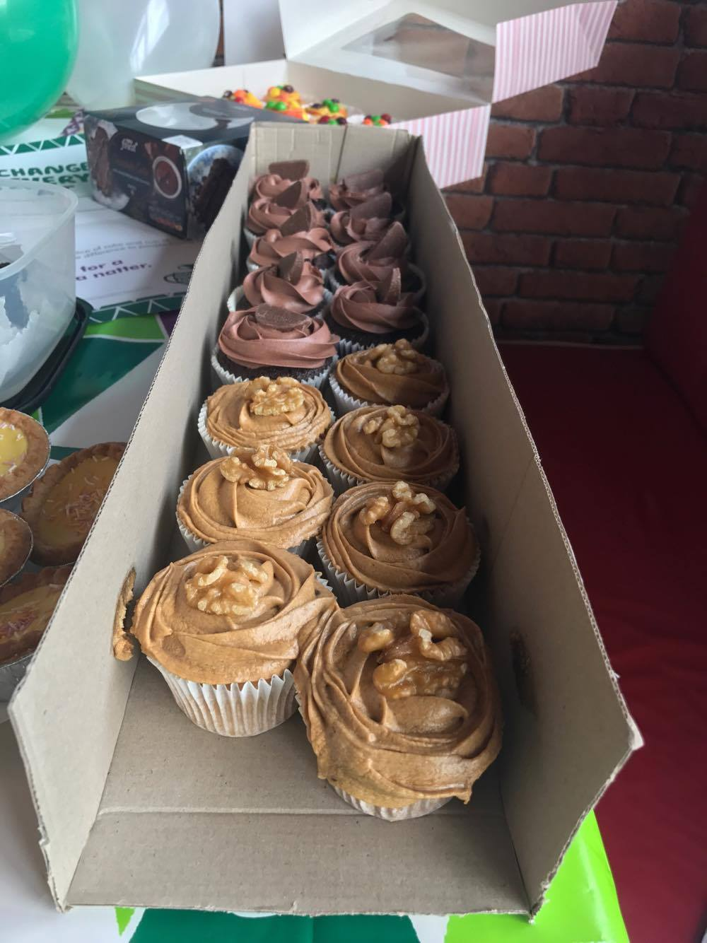 VP Cake Off Choc Cupcakes | Macmillan Coffee Morning 2017