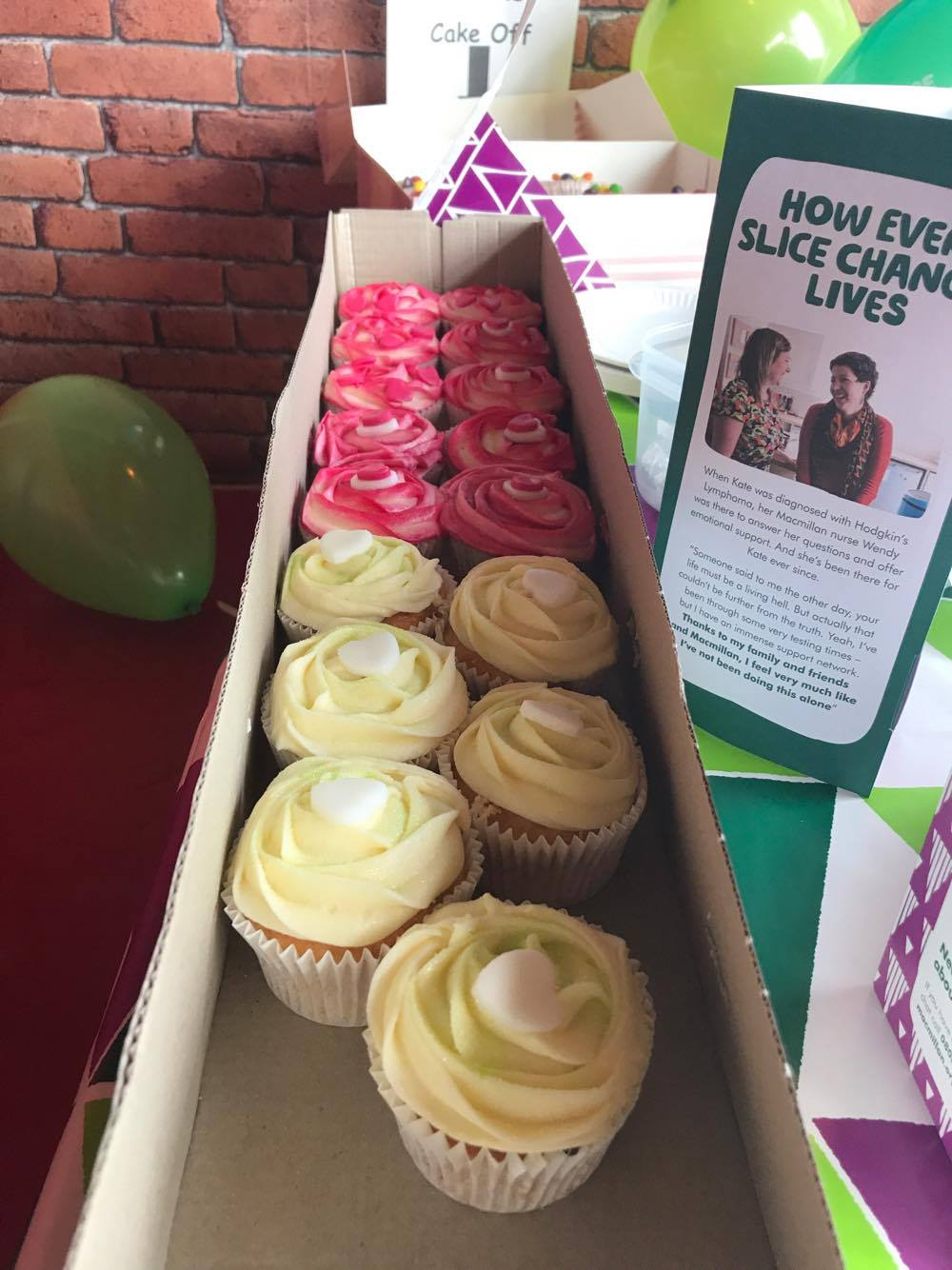 VP Cake Off Lemon & Strawberry Cupcakes | Macmillan Coffee Morning 2017