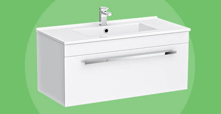Wall Mounted Vanity Units Online At Victorian Now