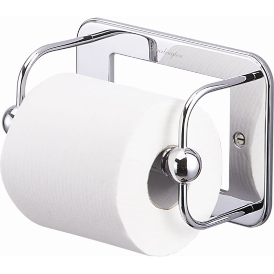 Burlington Chrome Toilet Roll Holder - A5CHR Large Image